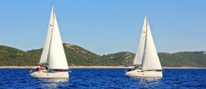 Yachten Meer Insel Sporedo Segelreisen