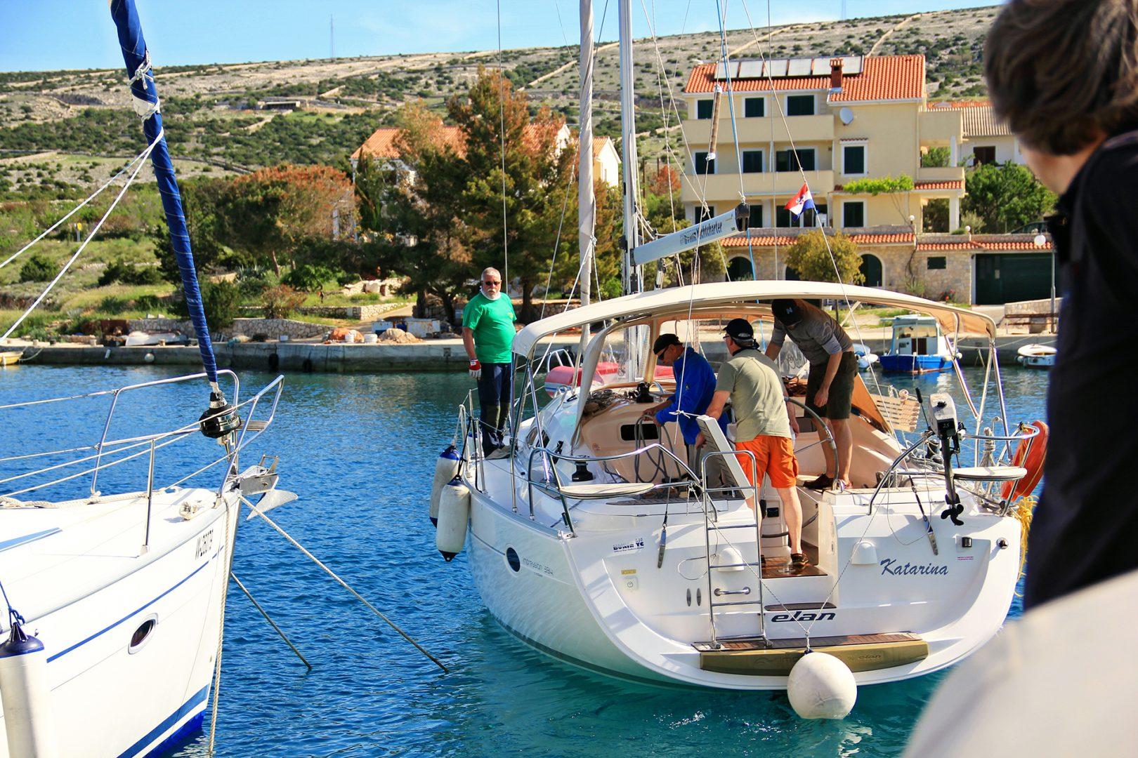 Ablegen Yacht Teamwork Meer Seereisen Sporedo