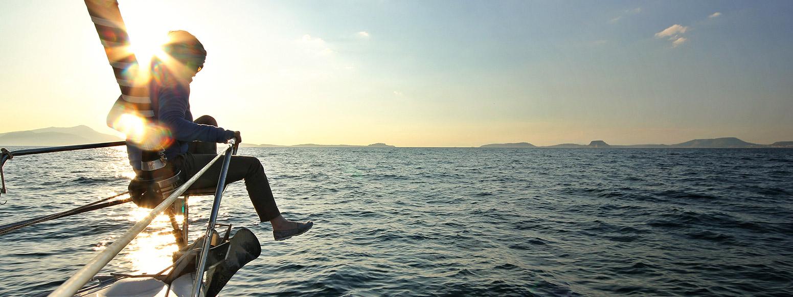 entspannen Sonne segeln Meer Sporedo