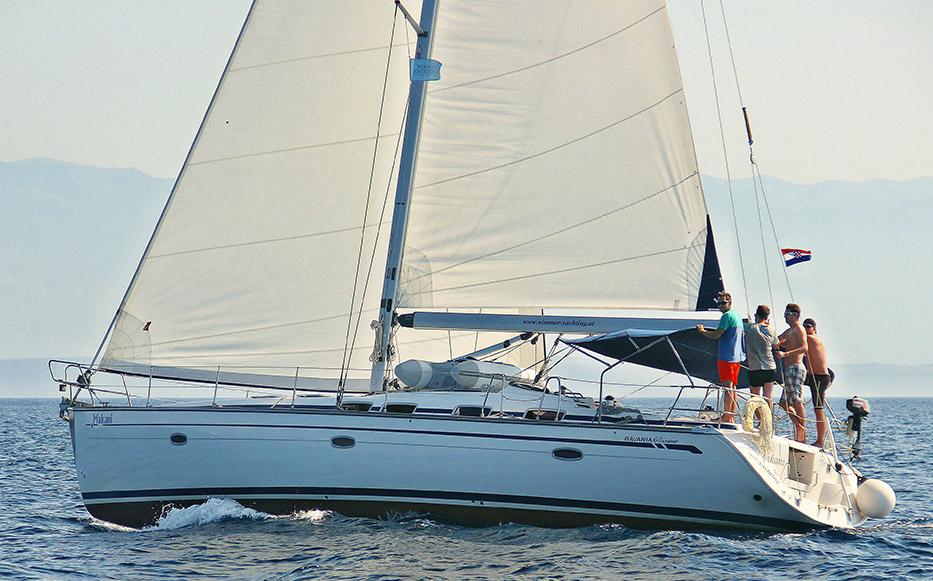 Zusammenarbeit Yacht Segelreisen Sporedo