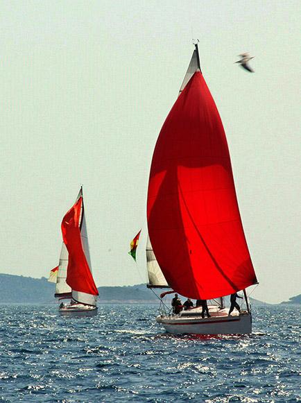 Yacht Rot Meer Flottille