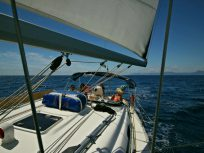 Segelreisen Yacht Sporedo Ausblick