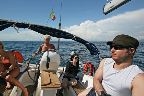 Gruppe Team Yacht Segelreisen Sporedo