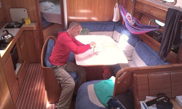 Kabine Yacht Sofa Wohnzimmer