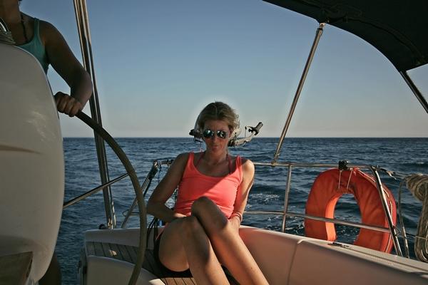 entspannen bei Segelreisen Sporedo