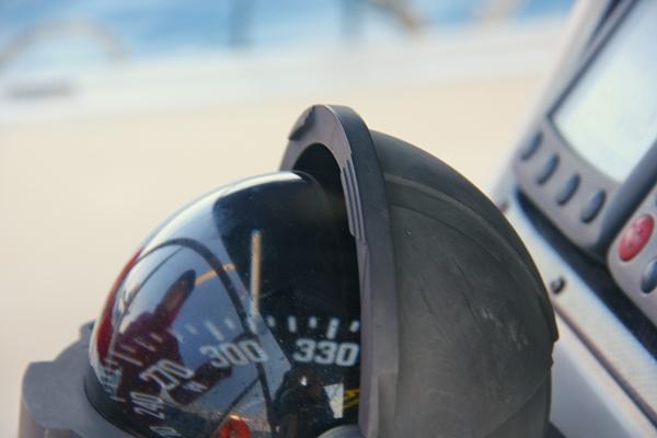 Steuerung Kompass Yacht Segeln