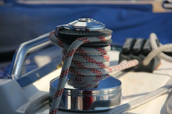 Tau Seil Winde Yacht