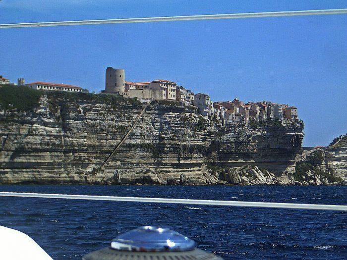 Segeln Meer Felsküste