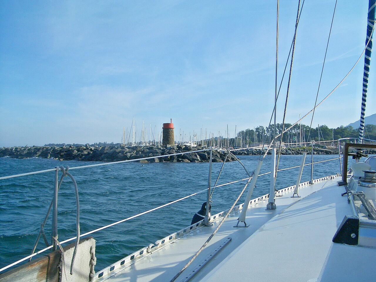 Yacht Segelreisen Sporedo