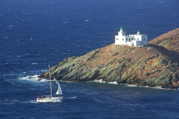 Felsen Insel Yacht Segeln