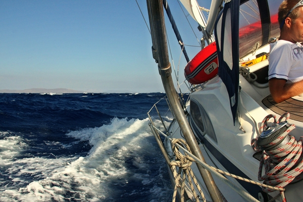 Yacht Segelreise Meer