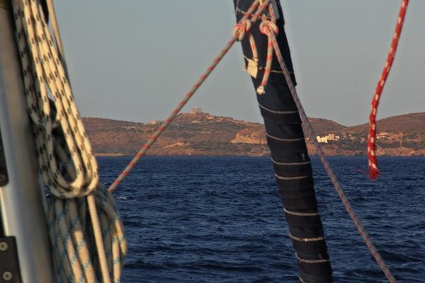 Ausblick Meer Küste Segelreise