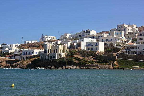 Häuser Küste Segelreisen Sporedo