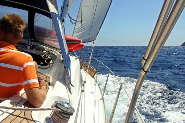 Segeln Yacht Kurve Meer