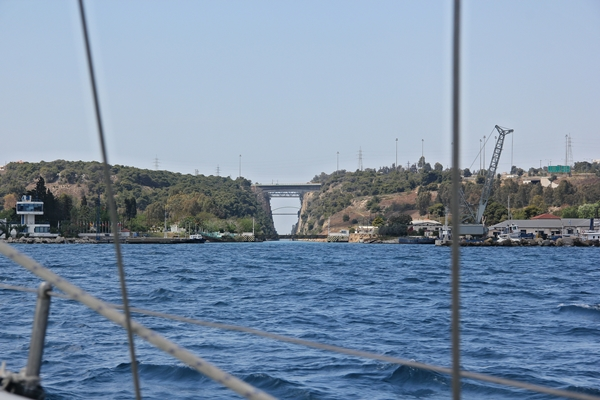 Korinth Segelreise Yacht Meer