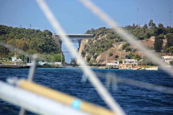 Brücke Meer Segeln Korinth