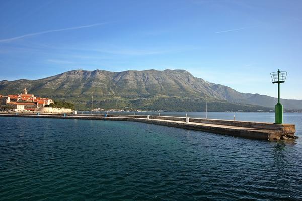 Meer Pier Korinth Meer