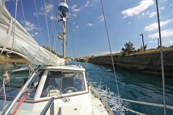 Korinth Segeln Yacht Sporedo