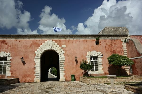 Korfu Griechenland Segelreisen Gebäude