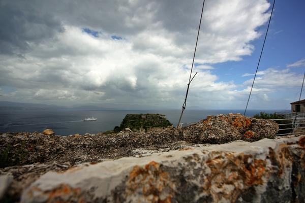 Korfu Felsen Segelreisen Sporedo