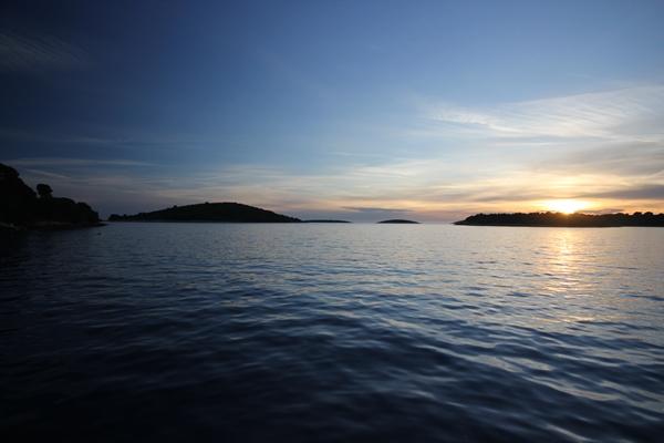 Sonnenuntergang Meer Sporedo