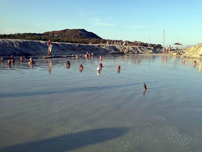 Sizilien Baden Sonne Bucht