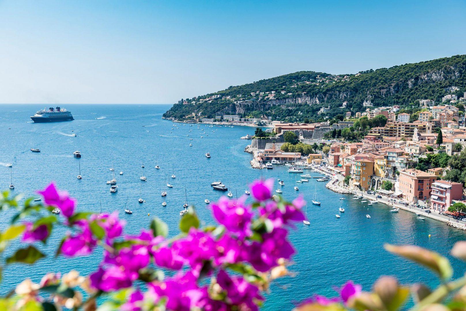 Segelrevier Côte d'Azur Sporedo Segelreisen