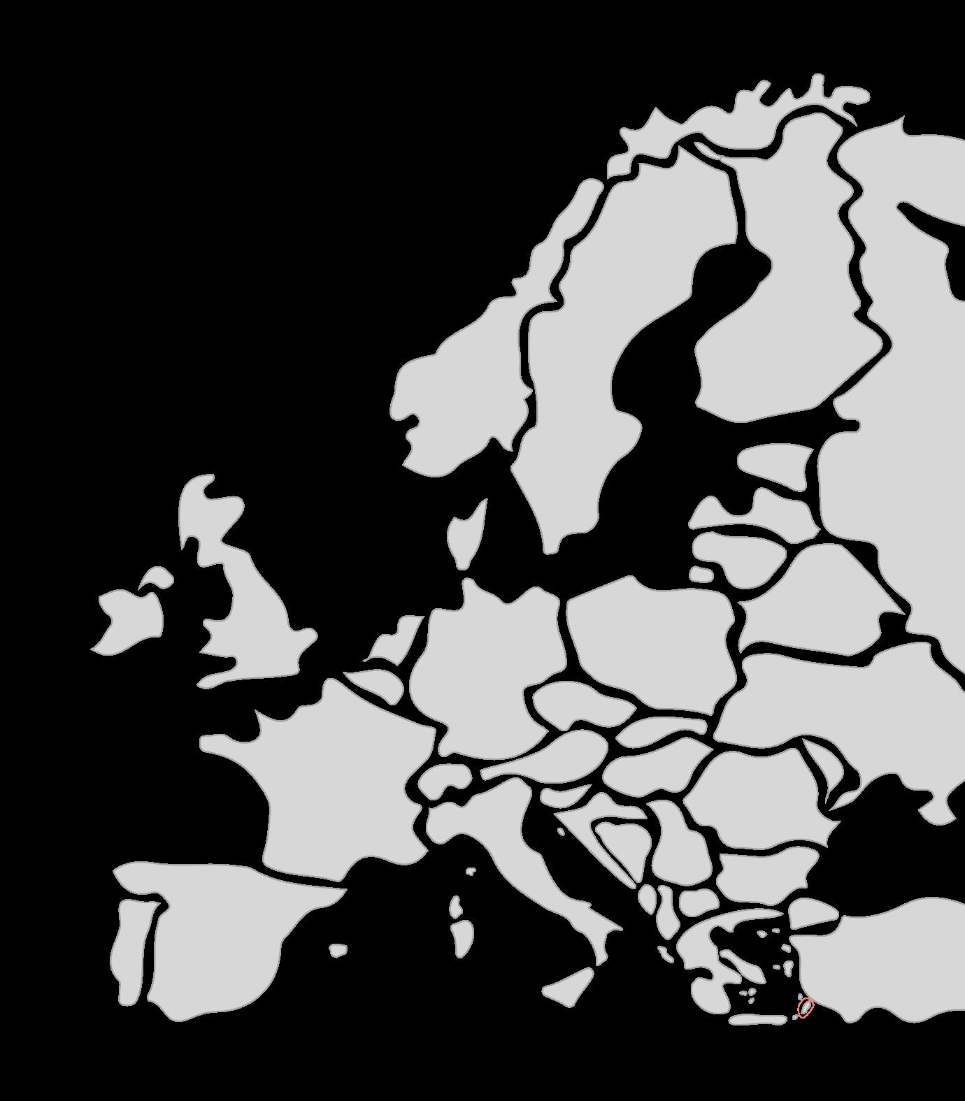 Karte Segelreisen Dodekanes