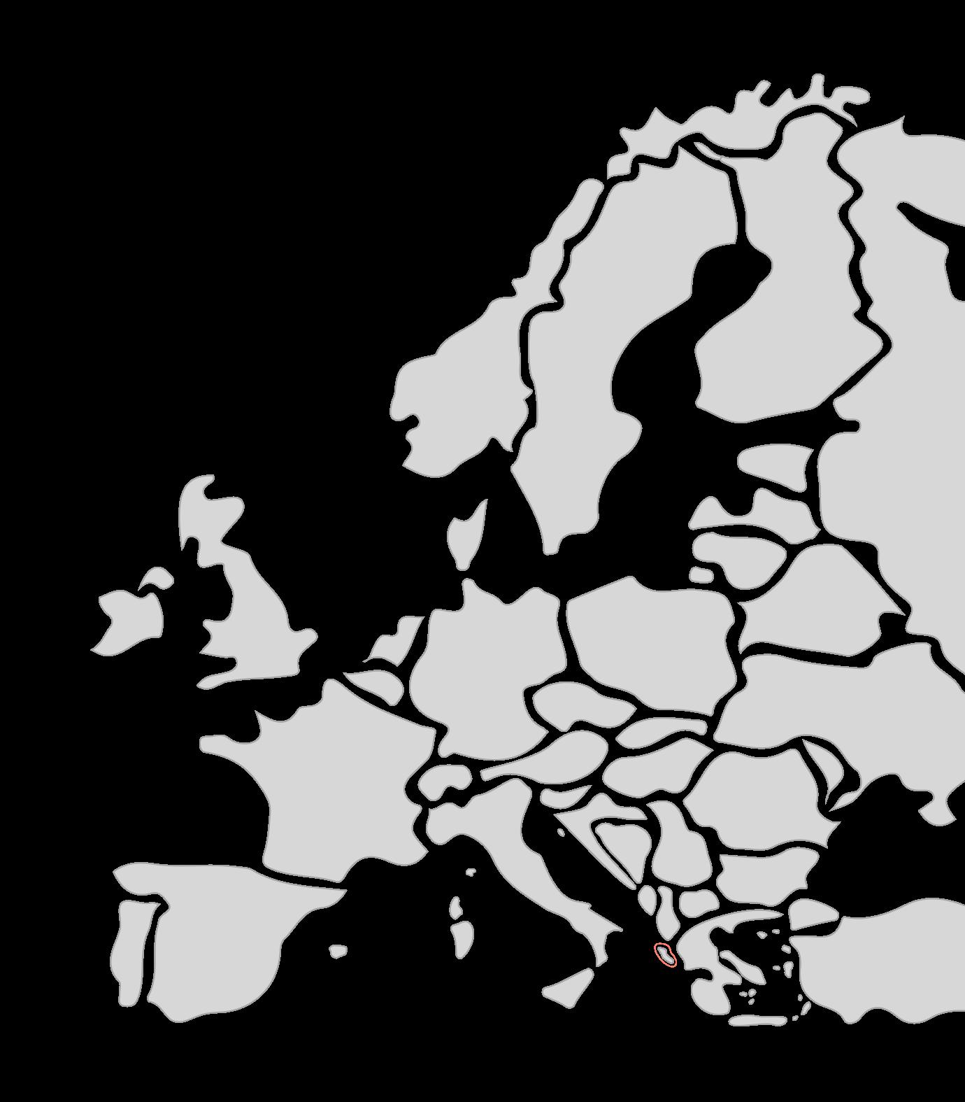 Karte Segelreisen Korfu