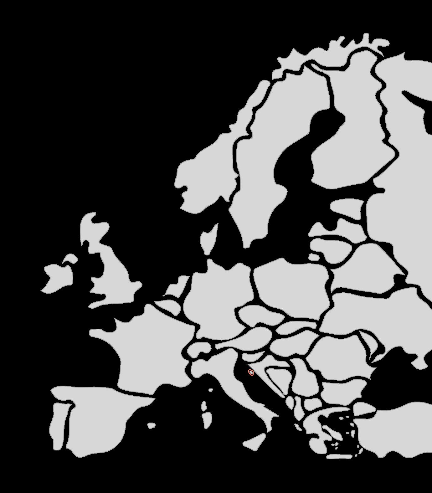 Karte Segelreisen Europa