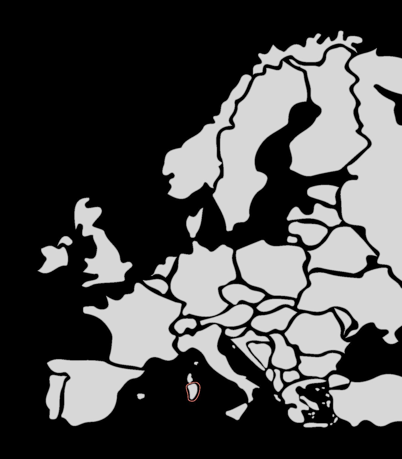 Karte Segelreisen Sardinien