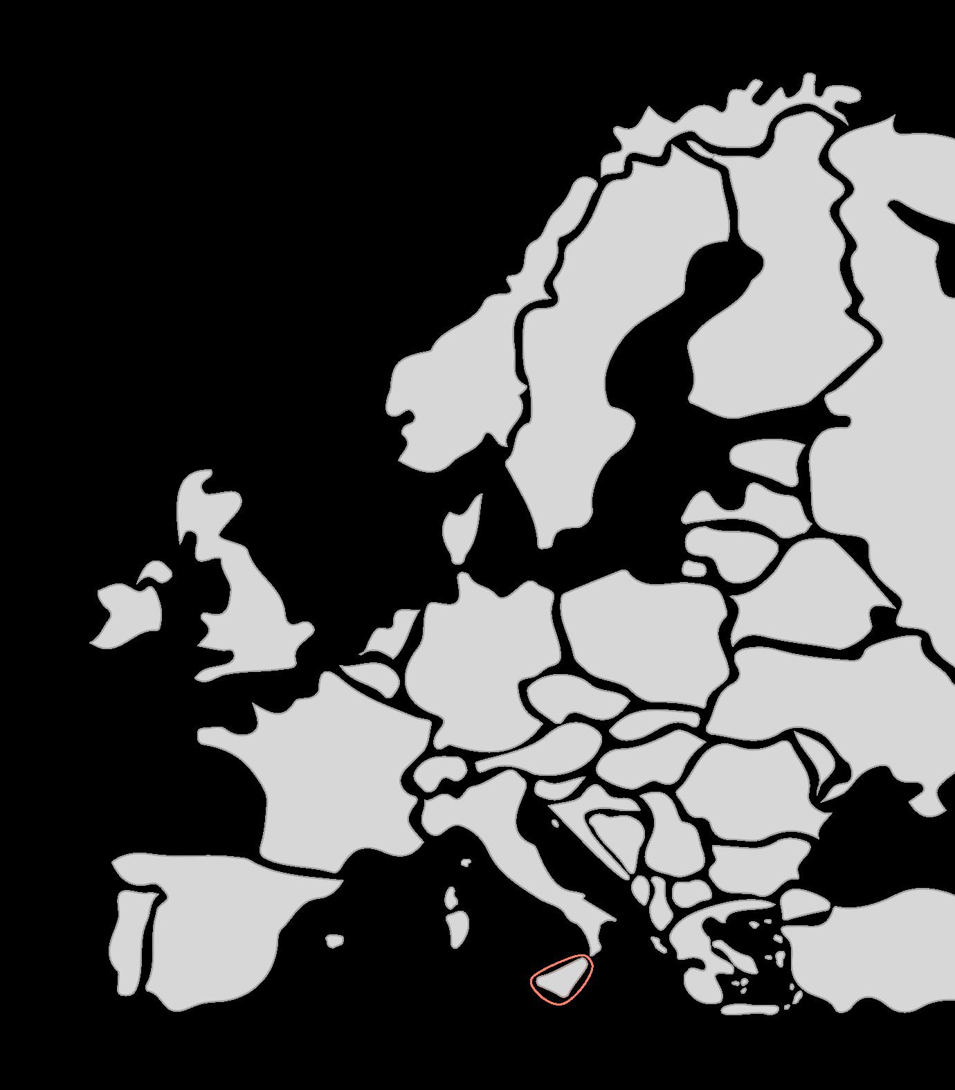 Karte Segelreisen Sizilien