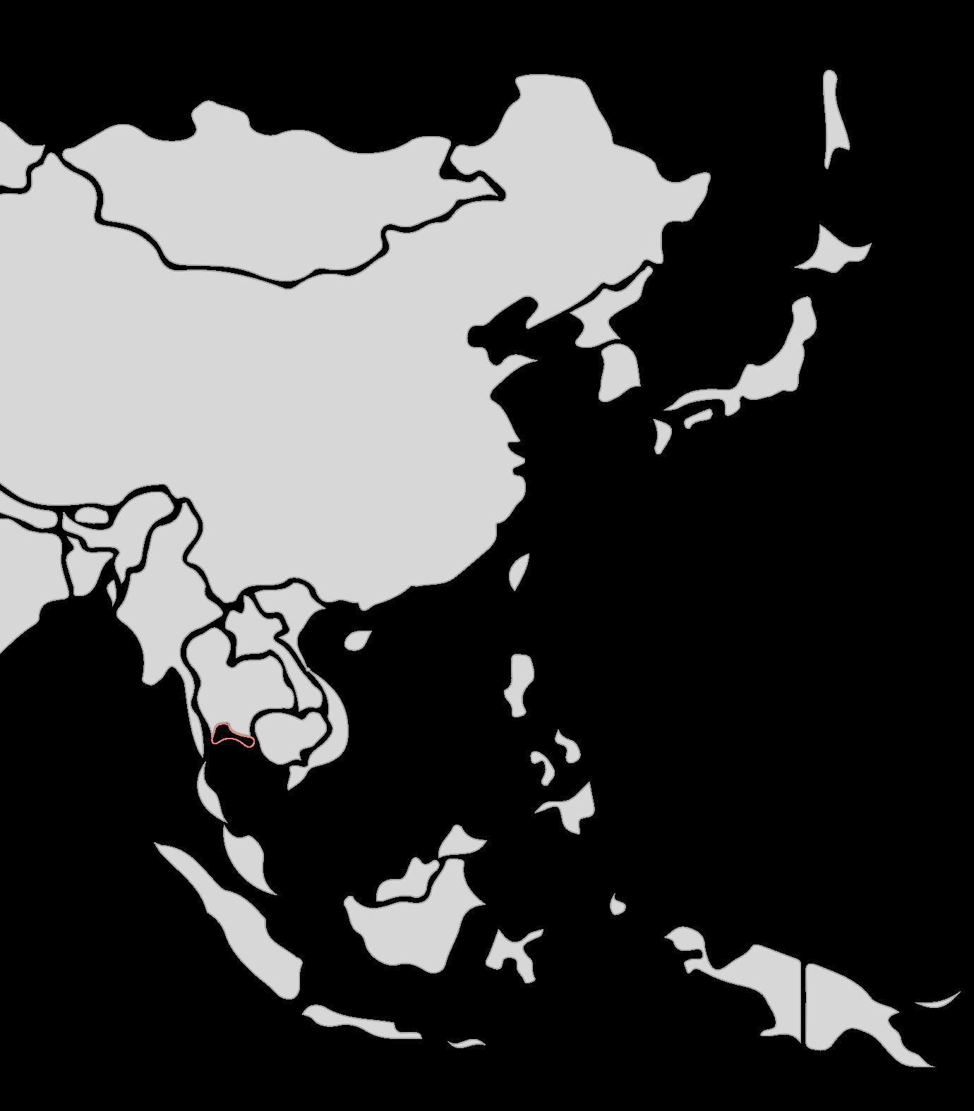 Karte Segelreise Thailand