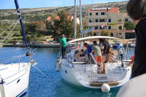 Hafen ablegen Sonne Sporedo