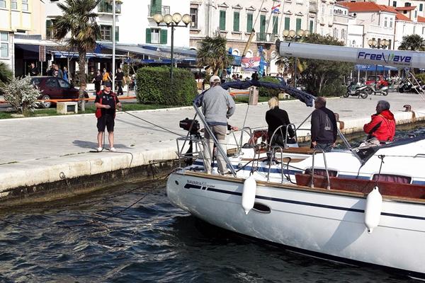 Hafen Anlegen Sporedo Yacht