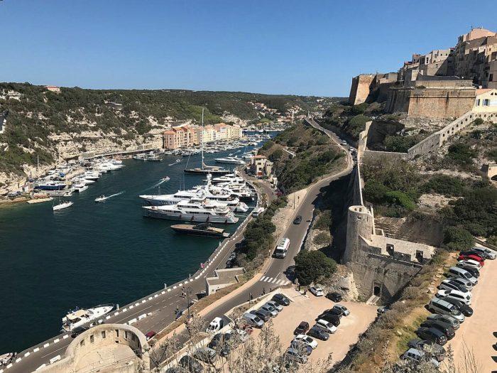 Sardinien Ausblick Korsika Segeln Hafen