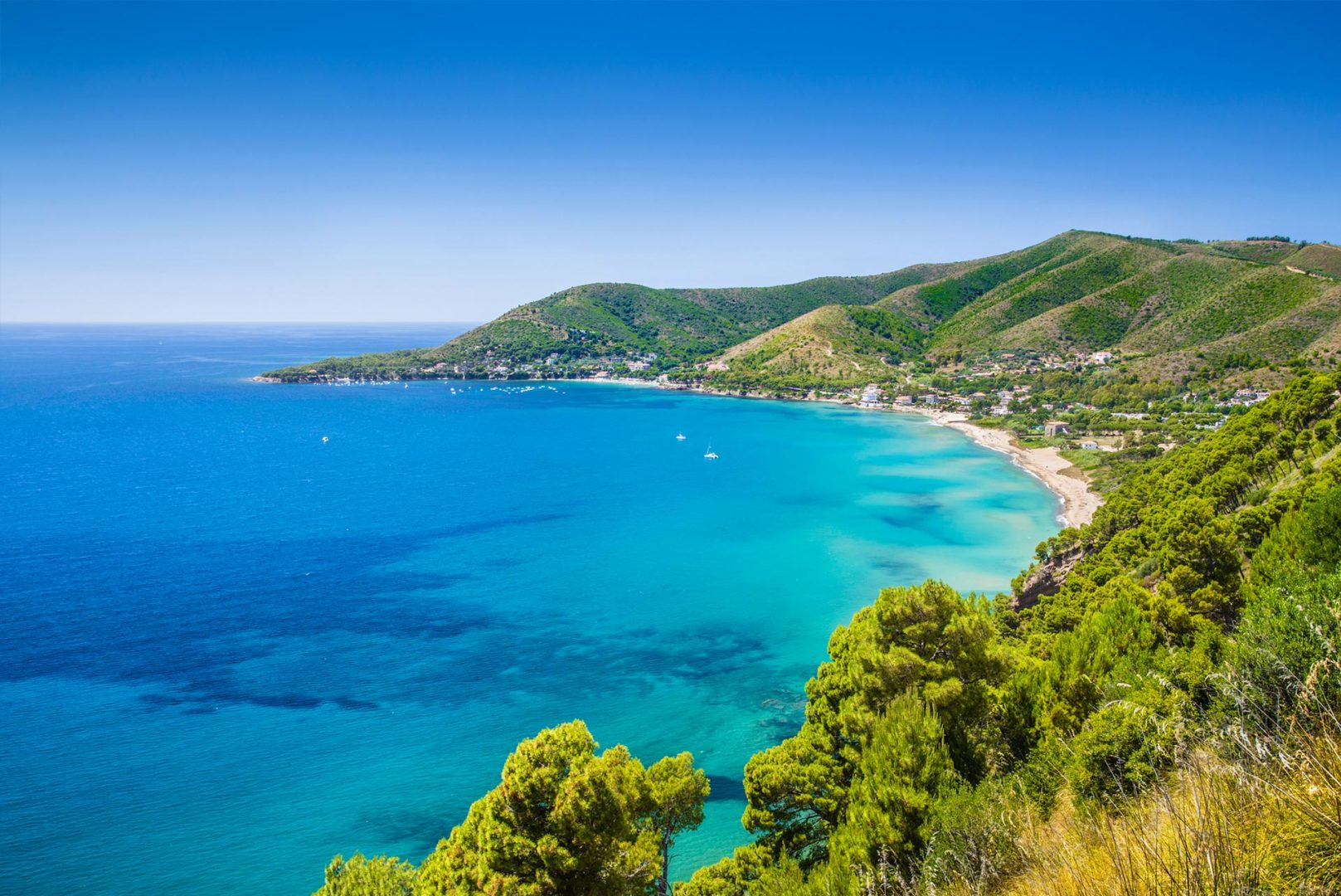 Amalfi Segeln Segelreise Sporedo